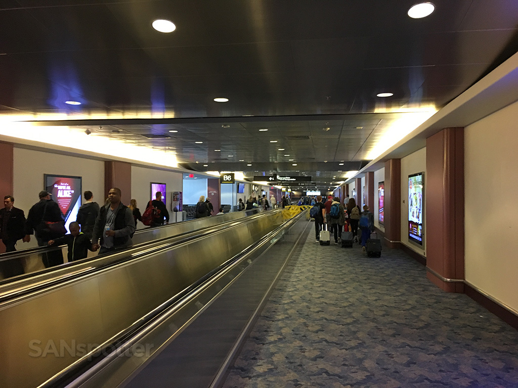 LAS airport interior
