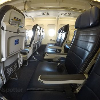 united airlines economy cabin