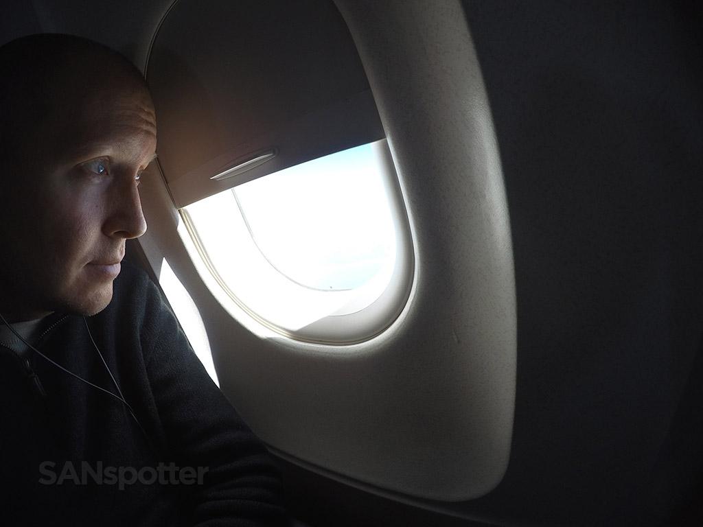 SANspotter selfie Untied A320