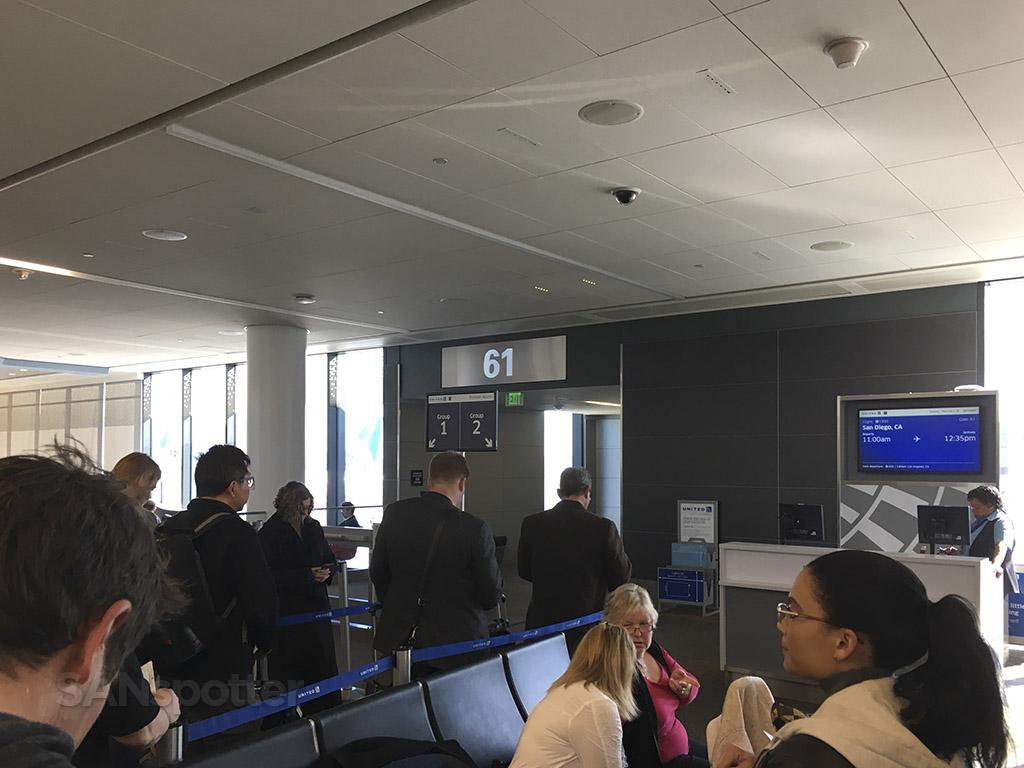 SFO gate 61 terminal 3
