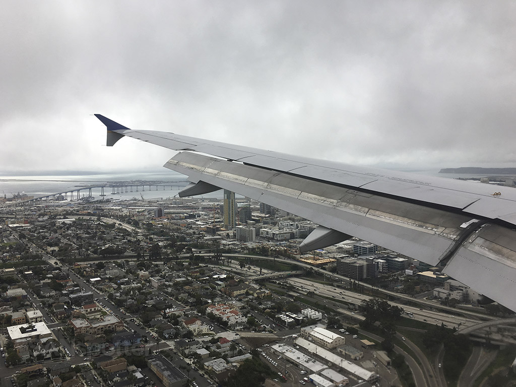 san diego downtown approach