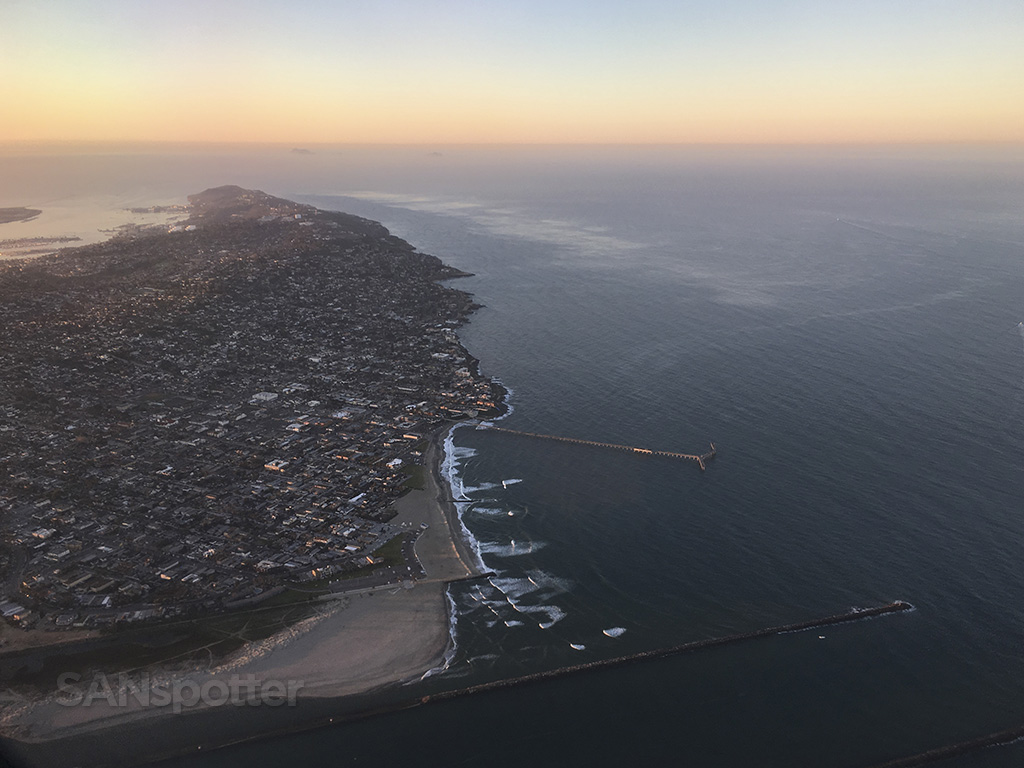 san diego point loma at sunrise