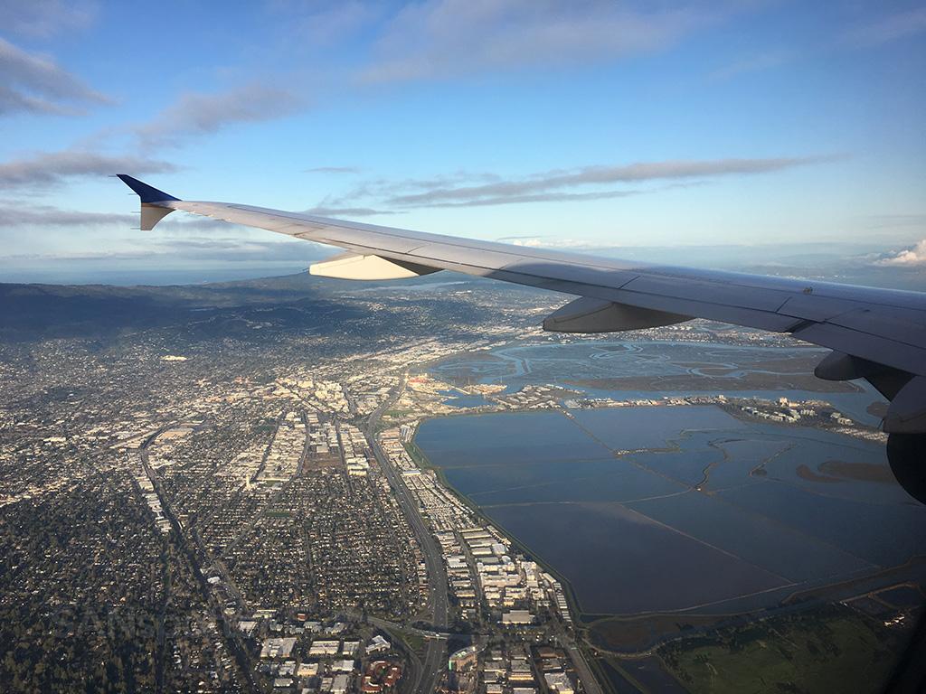 SFO runway 28 approach