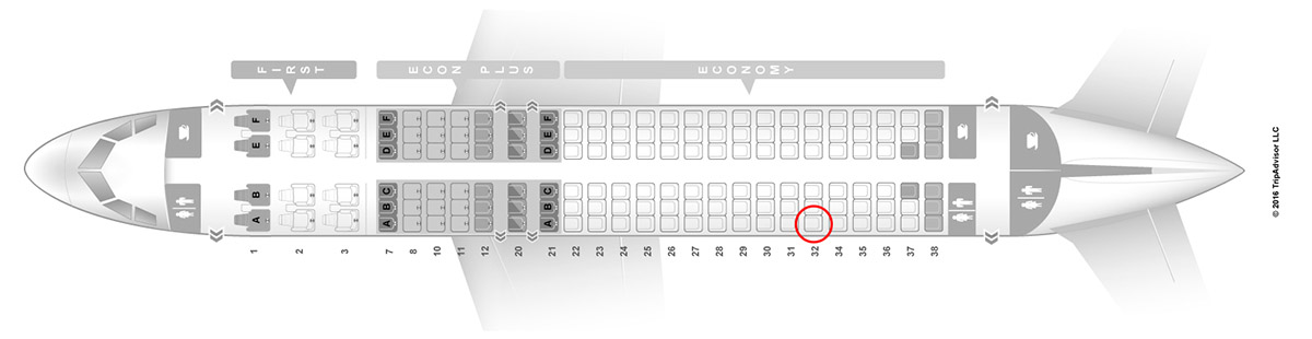 united airlines a320 seat map