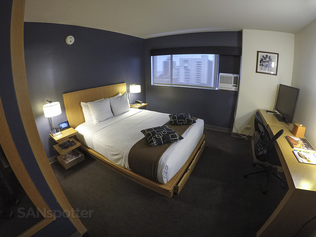 wide angle room view vive hotel