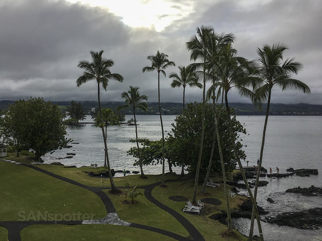 Grand Naniloa hotel room view