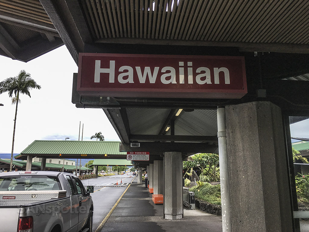 Hawaiian airlines Hilo airport