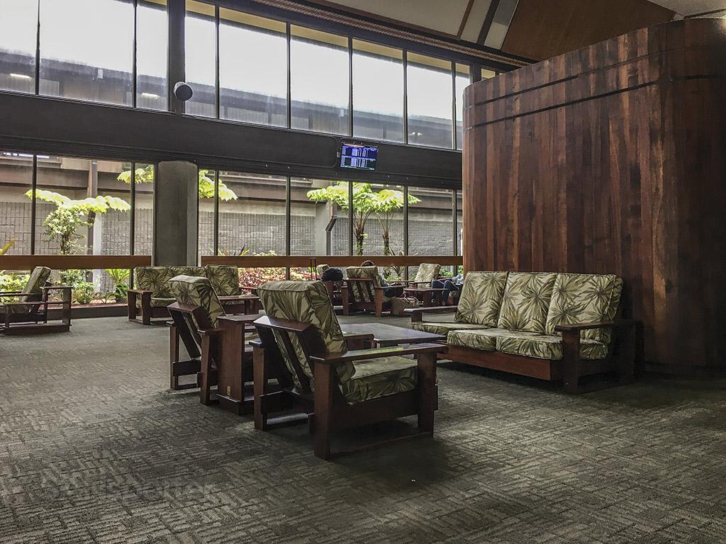 Hilo airport interior