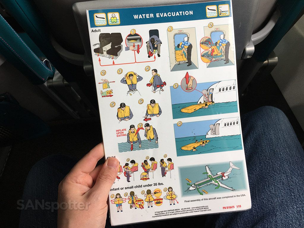 Hawaiian Airlines 717 safety information