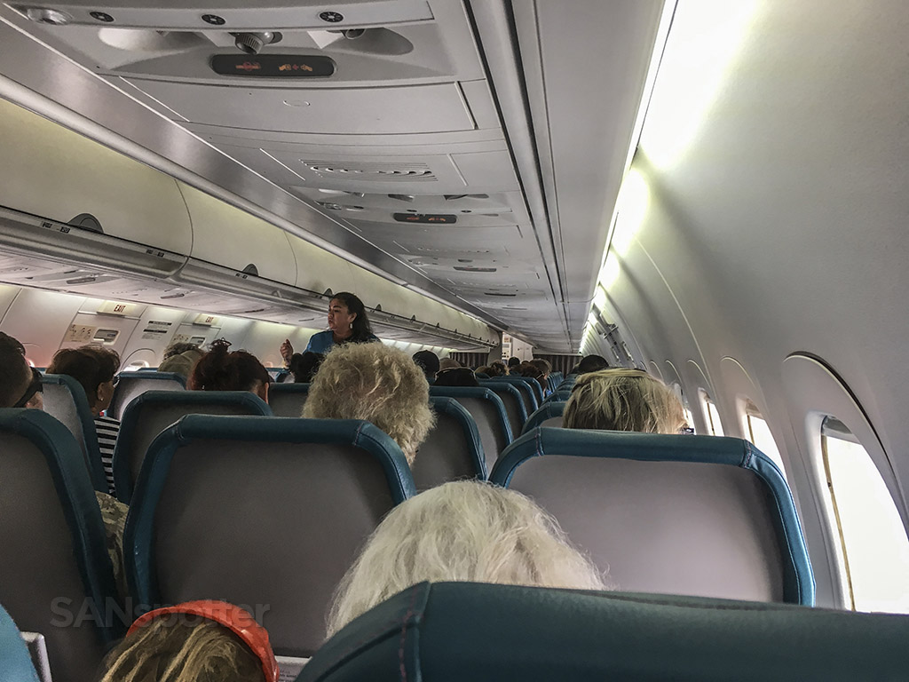 Hawaiian Airlines 717 seat 23F