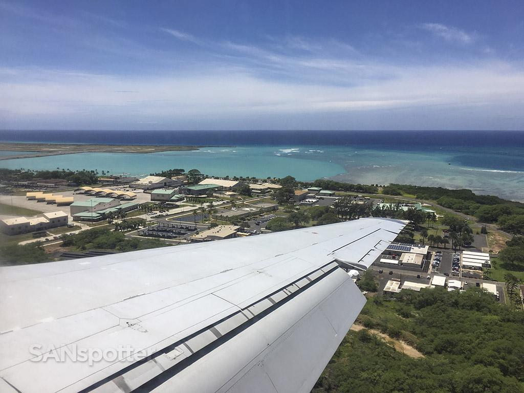 HNL runway 8L approach