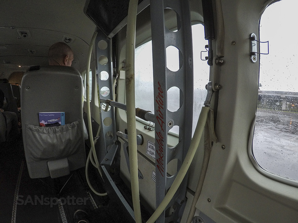 cessna 208 boarding door inside