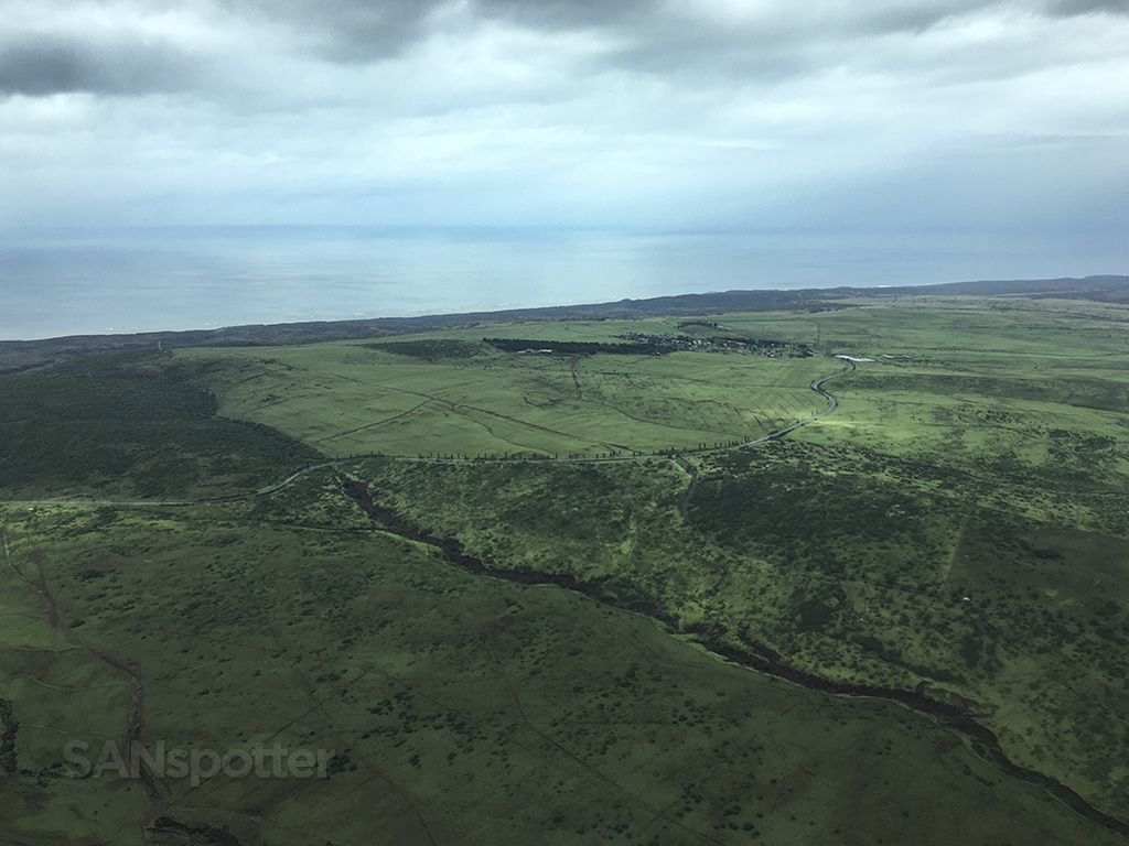 lush and green molokai