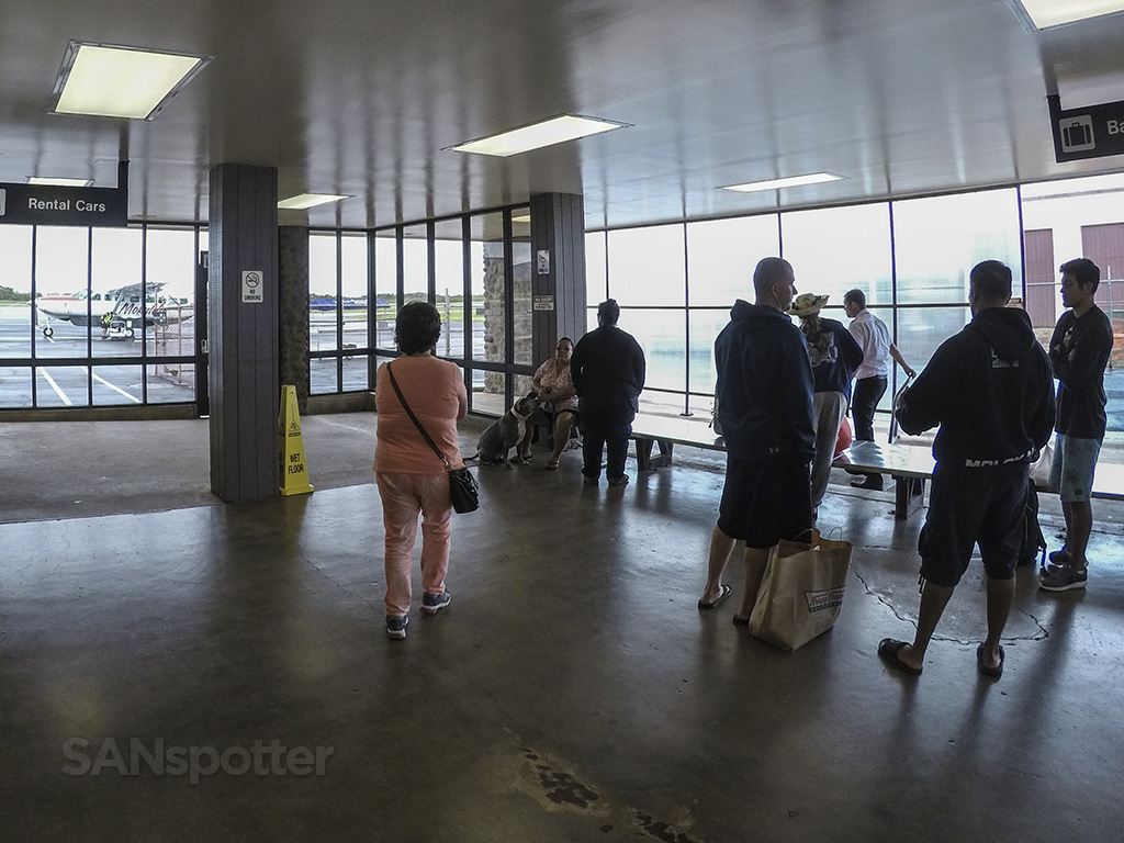 MKK airport interior