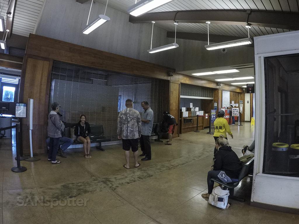 MKK airport inside