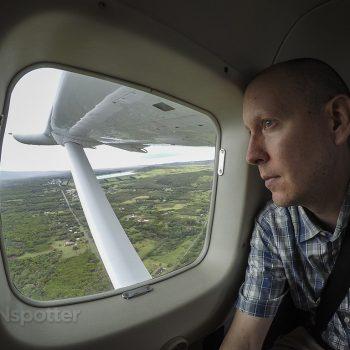 SANspotter selfie mokulele airlines