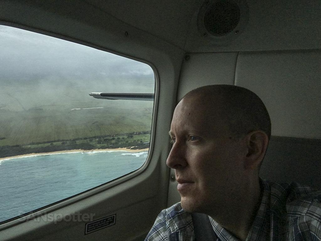 SANspotter selfie mokulele airlines maui
