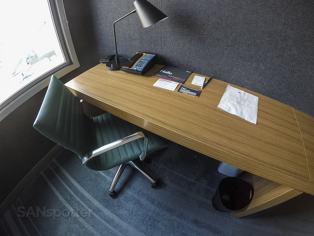 Aloft hotel room desk