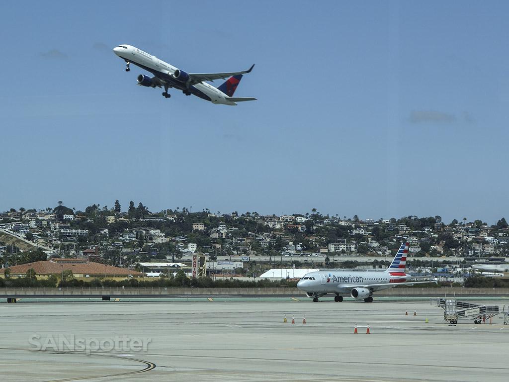 SAN airport spotting