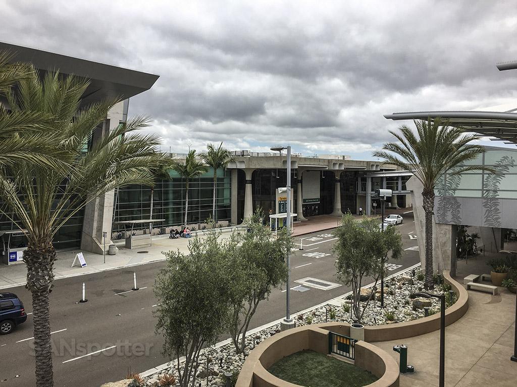 SAN airport exterior