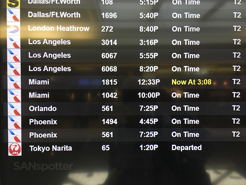 american airlines delayed flight