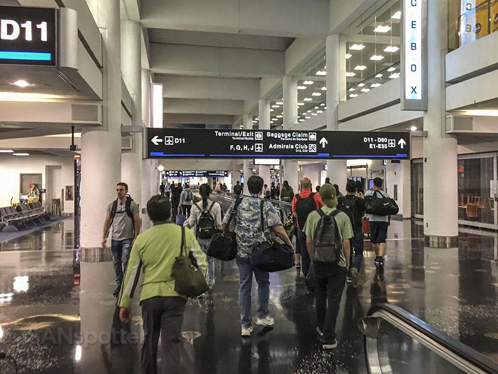 american airlines terminal interior MIA