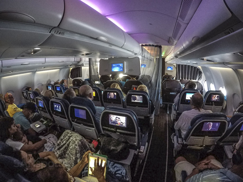 Hawaiian Airlines A330 Premium Economy cabin