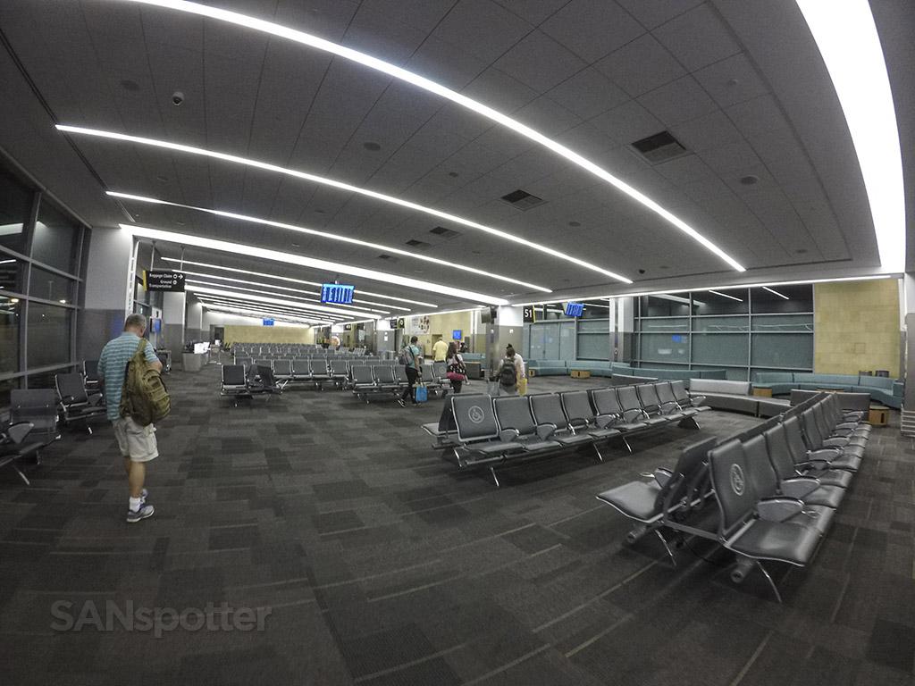 SAN airport interior