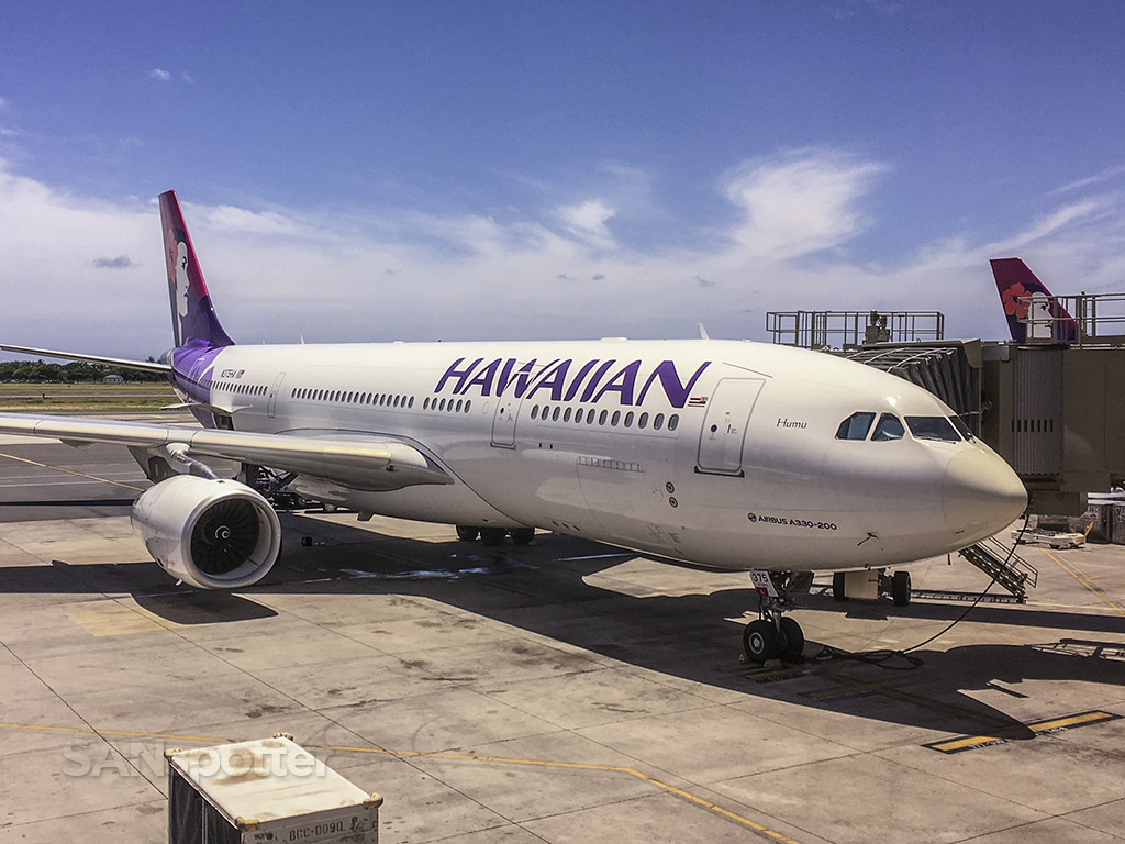 N375HA hawaiian airlines a330 HNL