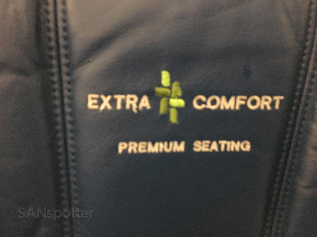 Hawaiian Airlines extra comfort logo
