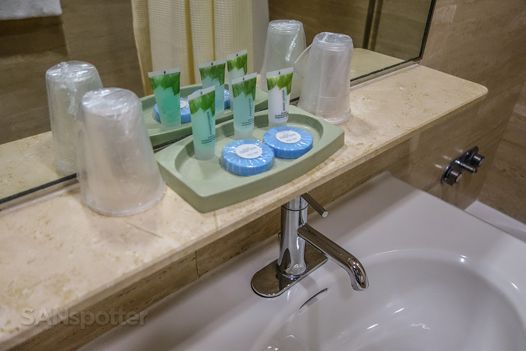 Miami airport hotel bathroom amenities