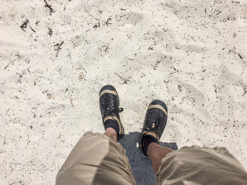 Key west beach and shoes