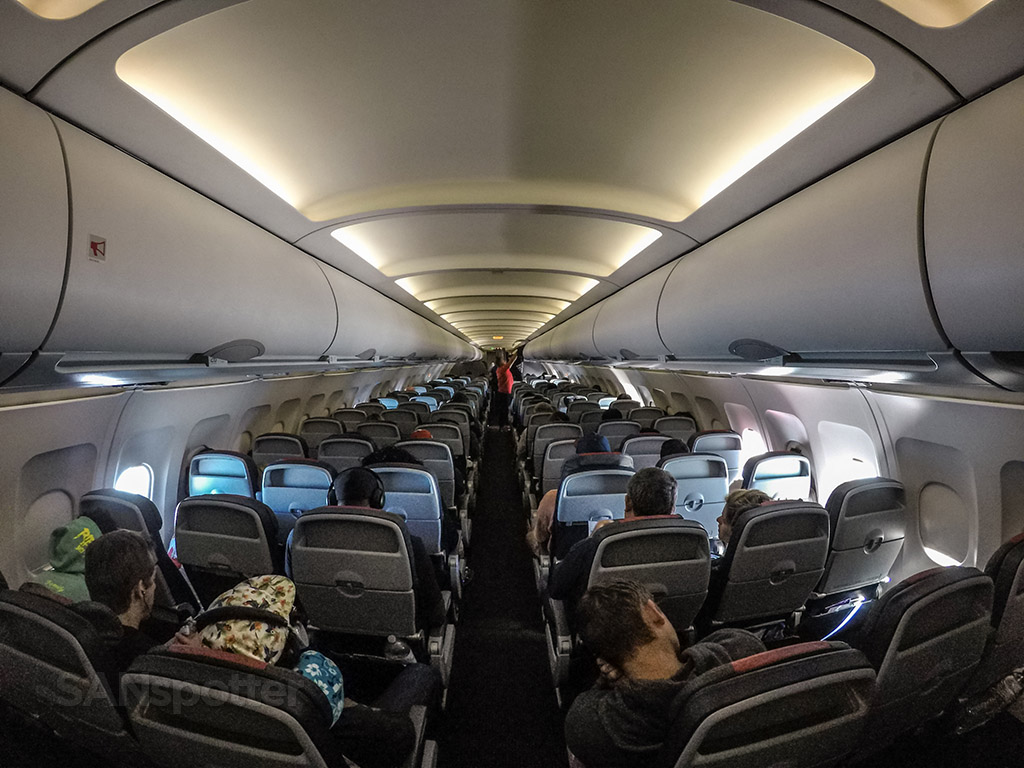 American Airlines A319 Economy Class Miami To San Diego Sanspotter