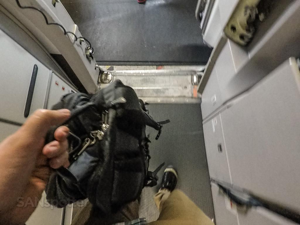 SANspottr deboarding American Airlines a319