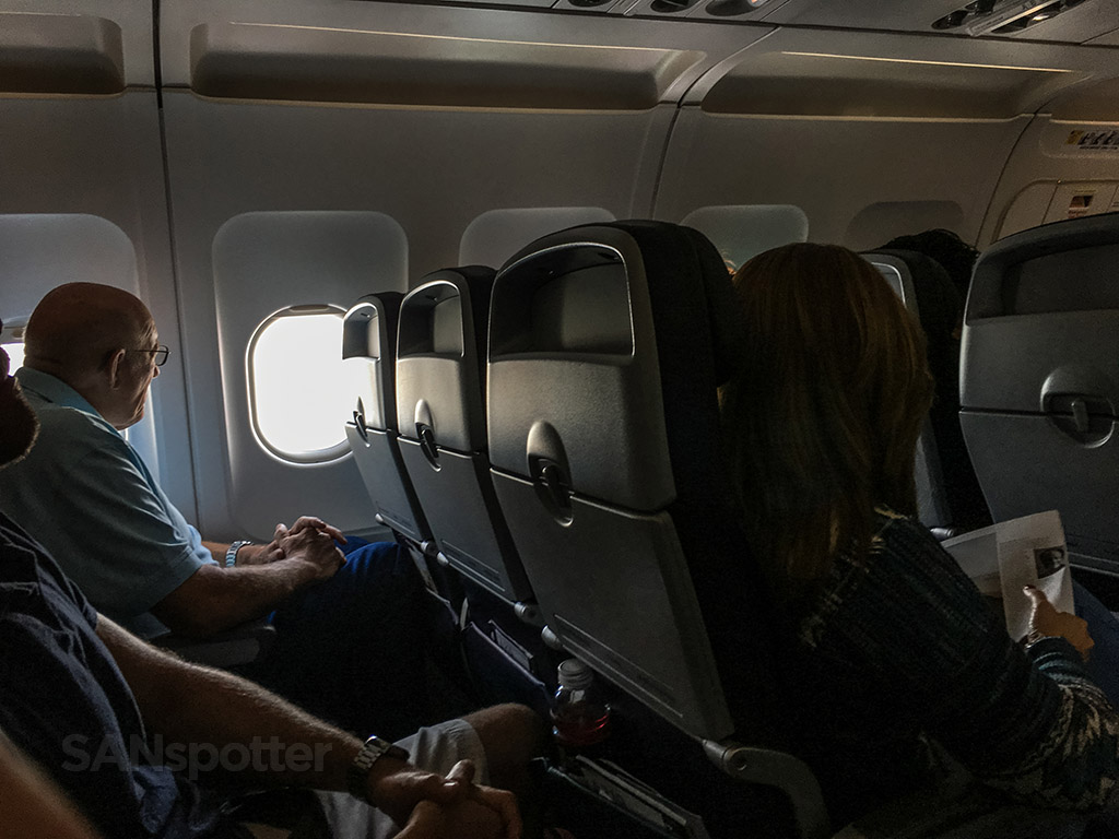 American Airlines a319 passengers