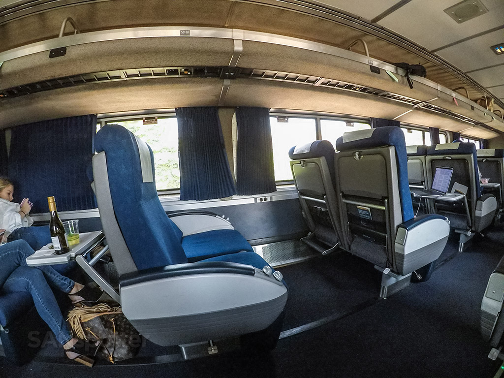 Amtrak Pacific surfliner business class