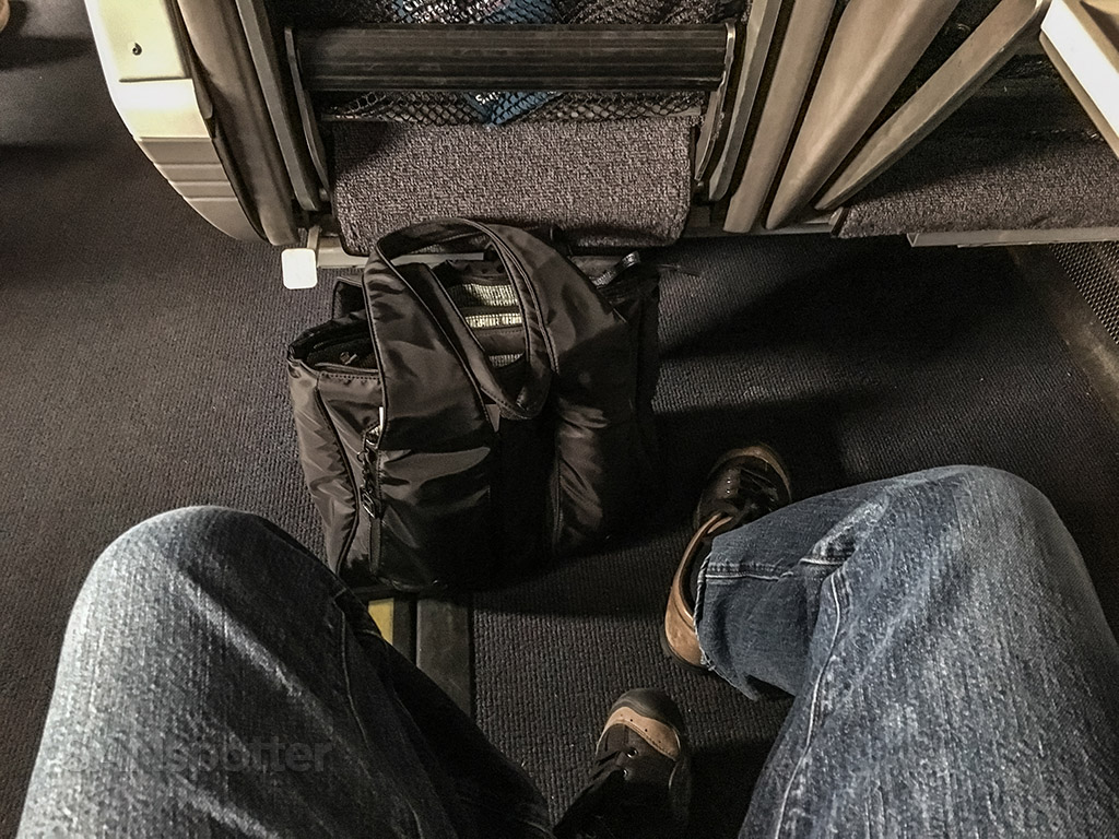 Amtrak Pacific surfliner leg room