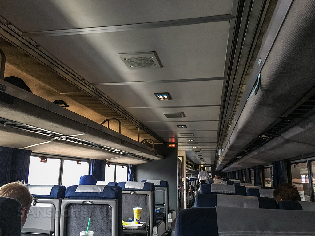 Amtrak Pacific surfliner business class car