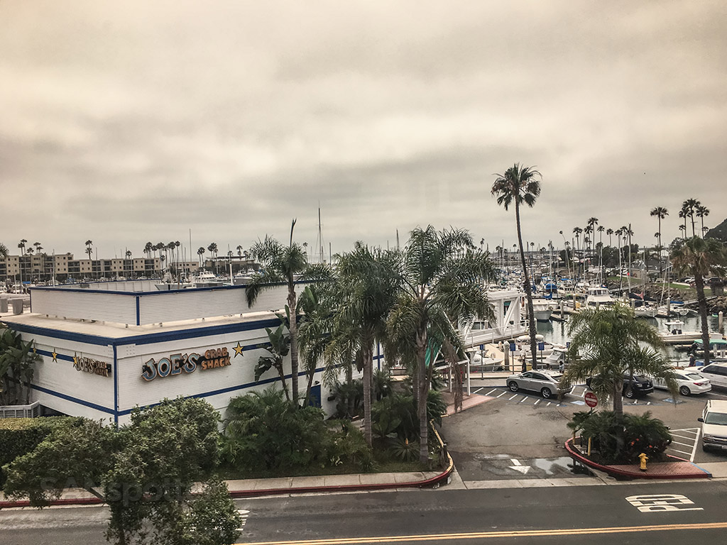 View of Oceanside from Pacific Surfliner