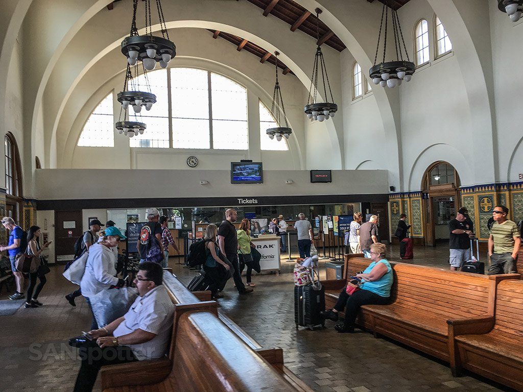 Santa Fe depot interior San Diego