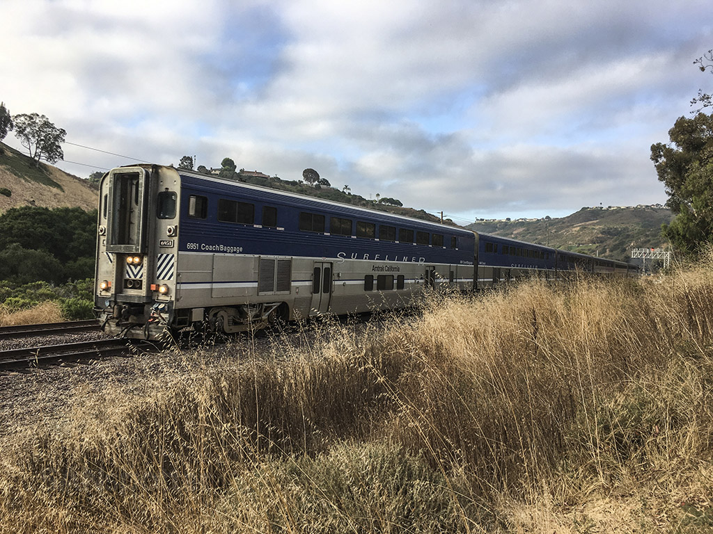pacific surfliner rose canyon san diego