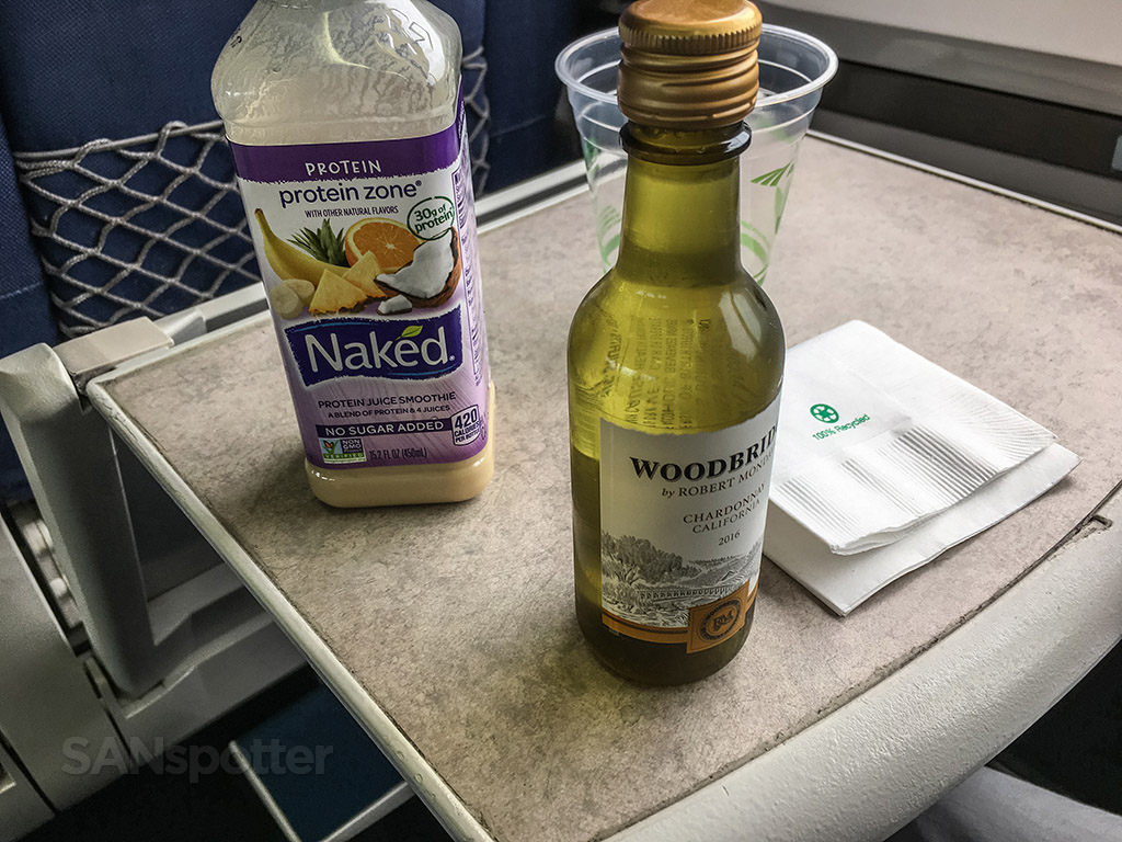 Amtrak at Pacific surfliner free alcohol