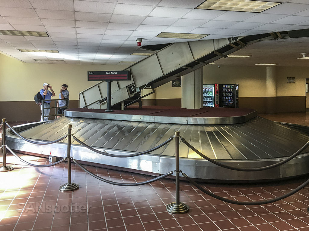Baggage claim at union station Los Angeles