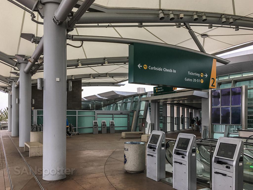 SAN terminal 2 entrance