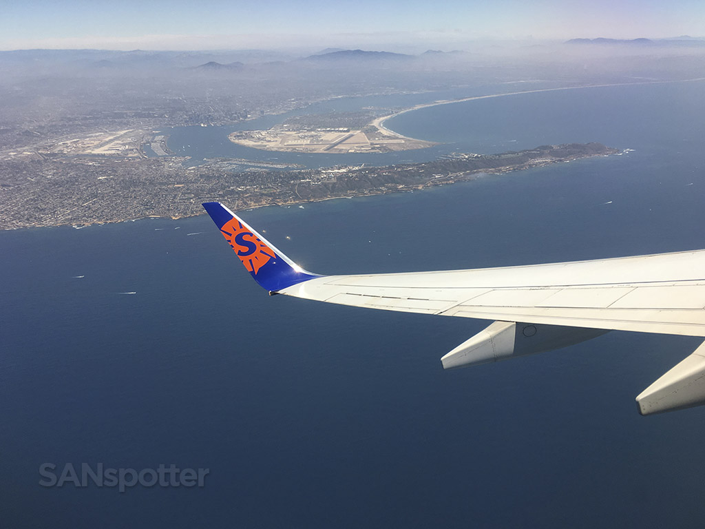 San Diego airport departure