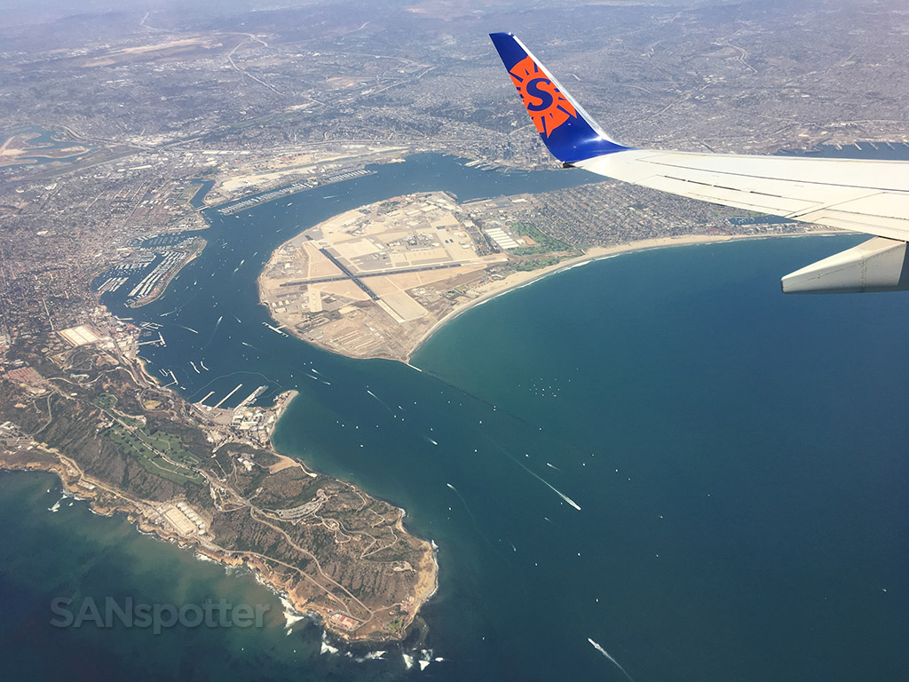 San Diego from the air