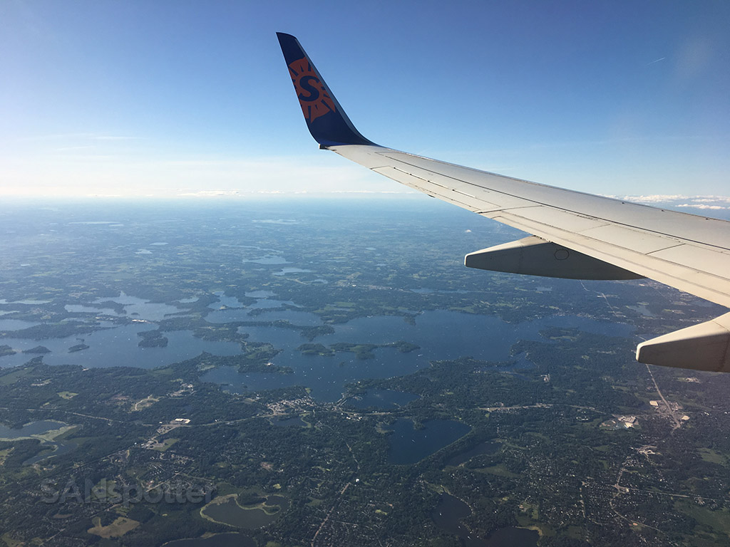 Minnesota land of 10,000 lakes