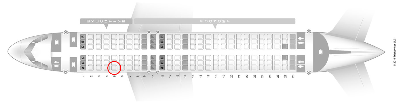 TAP Portugal A320 seat map