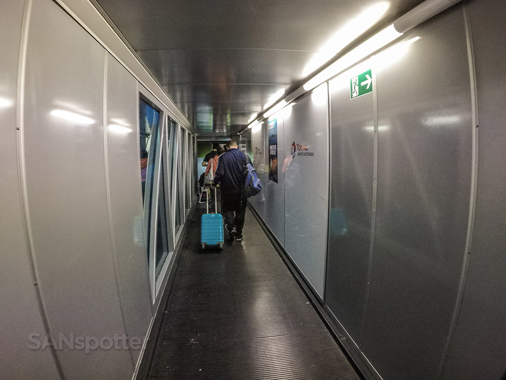 Frankfurt Airport jet bridge