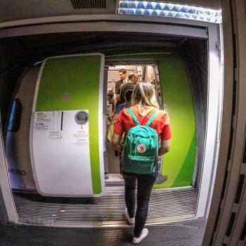 Boarding TAP Portugal A320